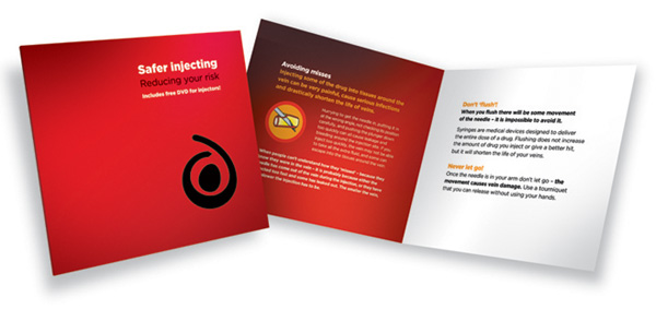 Safer injecting booklet