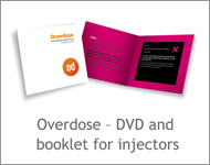 Overdose - DVD and booklet for injectors