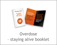 Overdose - staying alive booklet