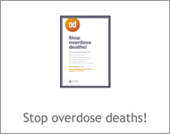 Stop overdose deaths!