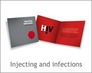 Injecting and infections
